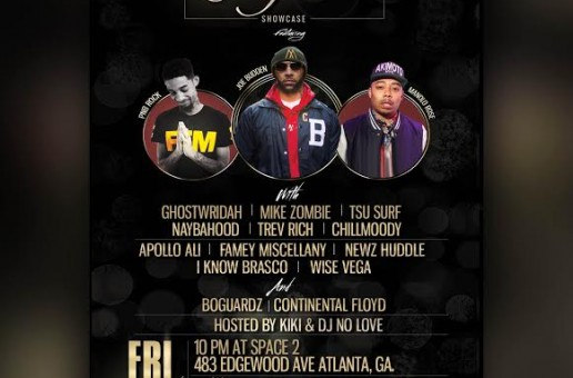 "Joe Budden, PNB Rock, Manolo Rose, Chill Moody & More Set To Perform During A3C's ""Cigars & Cognac"" Showcase"