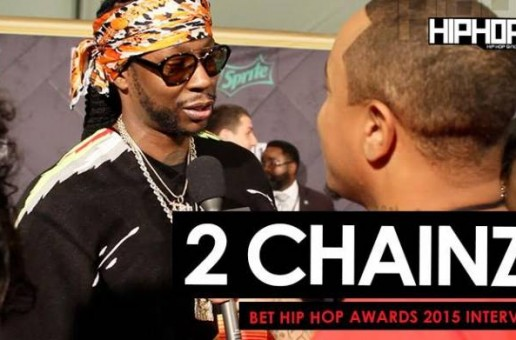 2 Chainz Talks His Upcoming Album, Street Execs vs. Vamp Life Basketball Game, 'Trapavelli Tre' & More On The 2015 BET Hip-Hop Awards Green Carpet (Video)