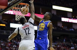 Hi, My Name Is: Golden State Warrior Harrison Barnes Throws it Down Over Rockets Star Dwight Howard (Video)
