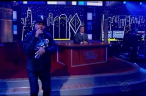 Chance The Rapper Performs 'Angels' On The Colbert Show! (Video)
