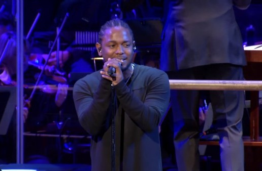 Kendrick Lamar Performs 'These Walls' With National Symphony Orchestra! (Video)