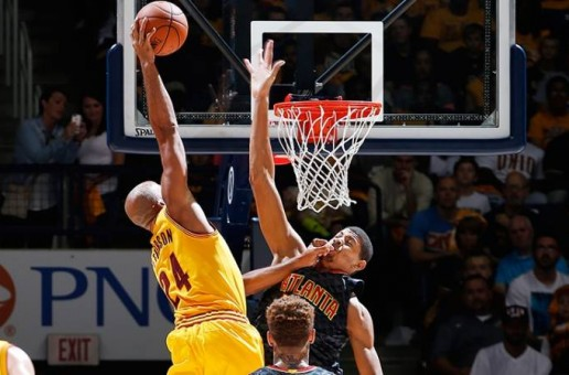 He Can Still Fly: Cavs Veteran Richard Jefferson Posterizes Atlanta Hawks Rookie Edy Tavares (Video)