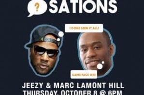 Surprise: Jeezy & Marc Lamont Hill Will Sit Down For A One On One Conversation Today At A3C (6pm-7pm)