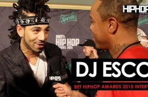 DJ Esco Hints At A New Future Project, Talks 56 Nights In Dubai, 'Esco Boomin' & More On The 2015 BET Hip-Hop Awards Green Carpet (Video)