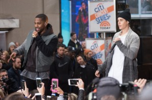 """Big Sean Joins Justin Bieber On The """"Today"""" Show (Video)"""