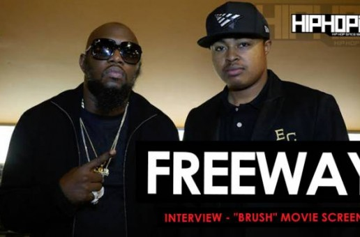 "Freeway Interview At The ""Brush"" Movie Screening 11/5/15 (Video)"