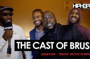 """The Cast Interview At The """"Brush"""" Movie Screening 11/5/15 (Video)"""