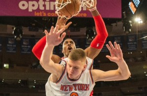 I Believe I Can Fly: Dwight Howard Puts Kristaps Porzingis On A Poster (Video)