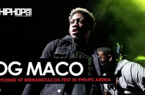 """OG Maco Performs """"Fuck Em 3x"""" & """"U Guessed It"""" at BeerAndTacos in Philips Arena (Video)"""