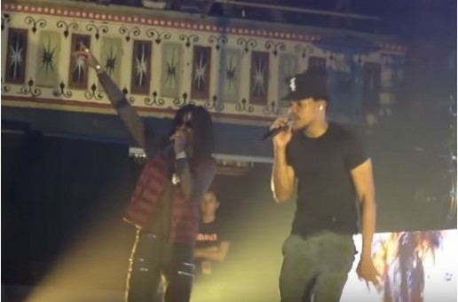 """Chance The Rapper Brings Out K Camp & Migos During His """"Family Matters Tour"""" Stop In Atlanta (Video)"""