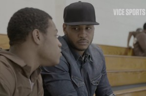 Carmelo Anthony Gives Some Words Of Wisdom To Inmates On Rikers Island (Video)