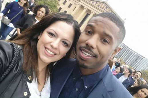 Michael B. Jordan Tells Mina SayWhat How He Physically Prepared to Play Apollo Creed's Son During Creed Press Conference (Video)