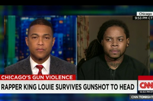 King Louie Talks Being Shot And Violence In Chicago On CNN (Video)