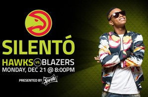 "The Atlanta Hawks Are Set To ""Whip & Nae Nae"" With Silentó As They Host The Portland Trailblazers"