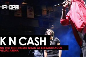 """TK N Cash Perform """"Mind Right"""", """"3 In A Row"""" & Bring Out Rich Homie Quan at Beer And Tacos Fest (Video)"""