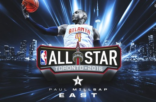 3rd Times A Charm: Atlanta Hawks Star Paul Millsap Named To The 2016 Eastern Conference All-Star Team