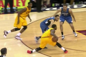 Uncle Drew Don't Hurt Em: Kyrie Irving Crosses-Up Tayshaun Prince (Video)