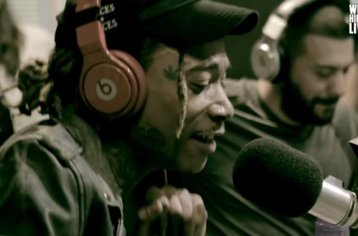 "Wiz Khalifa Remixes Adele's ""Hello"" On The Cruz Show (Video)"