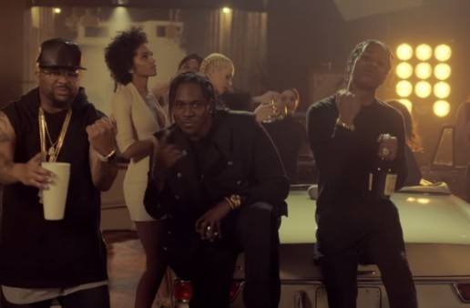 Pusha T – M.P.A. Ft. Kanye West, A$AP Rocky & The Dream (Video)