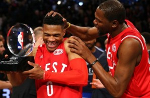 Russell Westbrook Received The 2016 NBA All-Star Game Kia MVP Award (Video)