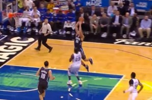 Do You Believe In Magic: Aaron Gordon Takes Off From Just Inside the Foul Line (Video)