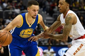 Stephen Curry Drops 36 Points Against The Hawks; Warriors Become The Fastest Team In NBA History To 50 Wins (Video)