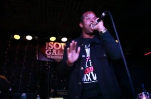 Shawn Archer Performs Live With Brandon Lee Beats (Video)