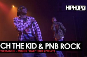 "Rich The Kid & PNB Rock Perform Live During The ""Dab Tour"" In Philly! (Video)"