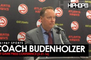 HHS1987 Sports: Coach Budenholzer Recap (Atlanta Hawks vs. Washington Wizards 3-21-16)
