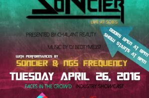 "Soncier To Perform At SOB's For ""Faces In The Crowd"""