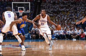 ICYMI: Kevin Durant, Russell Westbrook & The OKC Thunder Lead The WCF (2-1) After A (133-105) Victory Against Golden State (Video)