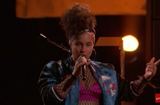 "Alicia Keys Performs Her New Single ""In Common"" On The Voice (Video)"