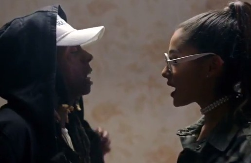 Ariana Grande x Lil Wayne – Let Me Love You (Video)