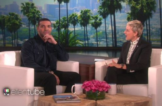 Drake Joins The Ellen Show (Video)