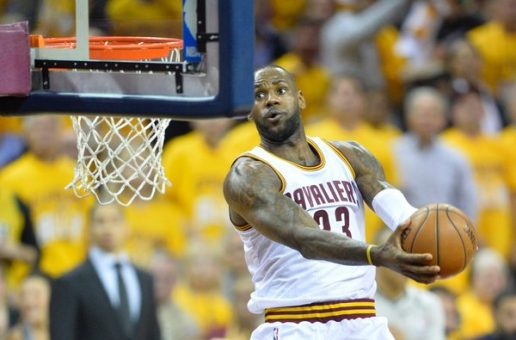 LeBron James Records A Triple-Double As The Cleveland Cavaliers Take Game 2 Of The ECF (108-89) (Video)