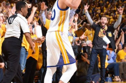"""""""We're Not Going Home"""": Stephen Curry & The Golden State Warriors Win Game 5 Of The Western Conference Finals (Video)"""